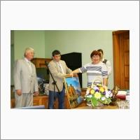 Director of IPCET SB RAS  Sergey Viktorovich Sysolyatin, Dr. (Chemistry), Deputy Director for Research of IPCET SB RAS, Sergey Gavrilovich Il'yasov, Dr. (Chemistry), Director of NIOCH SO RAS prof. E.G. Bagryanskya