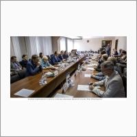 Заседание Координационного научного совета при губернаторе Иркутской области (фото В.А. Короткоручко) 2016