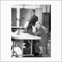 Н.Л. Добрецов и А.А. Трофимук