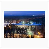 НГУ - главный корпус зимой