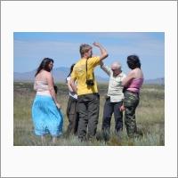 Обсуждение особенностей ландшафтов Тувы