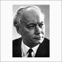 Portrait. Founder and the first director of Institute of Catalysis Academician Georgii Boreskov. From NSU archives