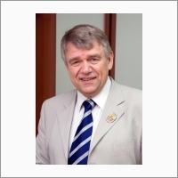Portrait. Third director of Boreskov Institute of Catalysis Academician Valentin Parmon