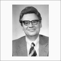Portrait. Second director of Institute of Catalysis Academician Kirill Zamaraev