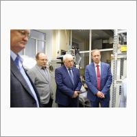 С.А. Бабин с делегацией Пермской научно-производственной приборостроительной компании