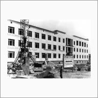 Строительство главного корпуса Института катализа