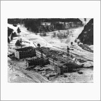 Строительство института Геологии и Геофизики. Февраль, 1959г.