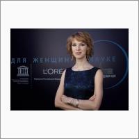 """Svetlana Romanenko, winner of """"Women in Science"""" contest"""