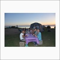 Ужин на берегу красивейшего оз. Торе-Холь