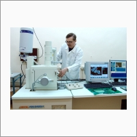Laboratory in the Department of physicochemical methods