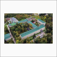 The building of Boreskov Institute of Catalysis from the bird's view