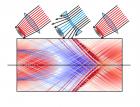 Иллюстрация - Роман Спицын: Траектории электронов гало в плазменной волне вблизи оси в окне моделирования, которое летит направо со скоростью света, соответственно, электроны гало двигаются справа налево.