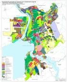 Карта перспективного зонирования «Наукополиса» Новосибирской агломерации