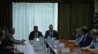 Максим Акимов и Андрей Травников в Выставочном центре СО РАН, 03.07.2018