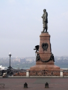 Памятник Александру III в Иркутске. Фото В. Панфилова