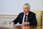 Губернатор Новосибирской области Андрей Травников, 11.05.2020