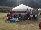 Участники археологической школы в Кыргызстане