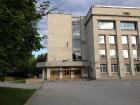 Вход в Институт археологии и этнографии СО РАН, Новосибирск