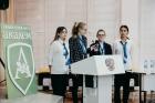 Участники конференции из Гимназии №13 (базовой школы РАН в Красноярске)
