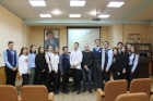 Ученики базовой школы РАН в Якутске в ИФТПС СО РАН