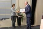 Вручение сертификатов представителям базовых школ РАН в Новосибирске, фото А. Федосеевой