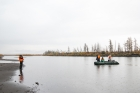 Большая норильская экспедиция, работа на водоемах.