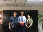 Академик Игорь Бычков с китайскими коллегами