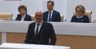 Дмитрий Чернышенко на заседании Совета Федерации