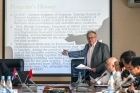 Академик Николай Леонтьевич Добрецов в ИНЦ СО РАН