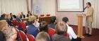 Директор ИНГГ СО РАН д.т.н. Игорь Ельцов выступает на конференции в Ижевске