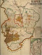 Карта Енисейской губернии от 1828 г. Источник: http://красноярские-архивы.рф