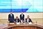 Владимир Евтушенков и Андрей Травников, 26.06.2018