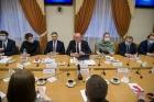 Дмитрий Чернышенко и Валерий Фальков встретились  с молодыми учеными Урала