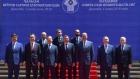 Совместное фотографирование глав правительств государств – участников СНГ