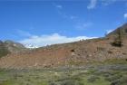Общий вид глетчера Джело, Алтай