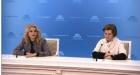 Татьяна Голикова и Анна Попова