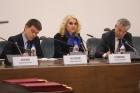 Михаил Котюков, Татьяна Голикова, Александр Сергеев на заседании Президиума РАН.