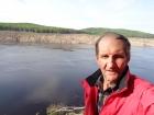Вячеслав Гусяков в экспедиции на реке Бурея
