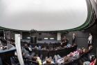 Иркутские школьники на лекции, организованной ИНЦ СО РАН.  Фото В. Короткоручко
