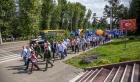 Празднование юбилея иркутского Академгородка в 2018 году.  Фото Владимира Короткоручко.