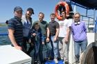 Молодая команда исследователей на  НИС «Геолог», Байкал
