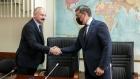 Председатель Комитета по науке и высшему образованию Сергей Кабышев и Министр науки и высшего образования Валерий Фальков