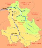 Бассейны Катуни и Бии. Сафронов А.В. - собственная работа