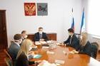 Глава Иркутской области Игорь Кобзев на совещании с молодыми учеными