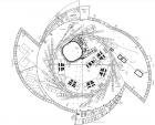 Концептуальный строительный проект ЦКП «СКИФ»: план I этажа основного здания.