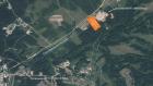 Оранжевый прямоугольник - предполагаемое место размещения завода по переработке отходов.