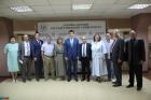 Михаил Котюков с преподавателями Забайкальского государственного университета