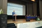 Академик Александр Латышев на открытии конференции