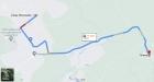Дорога от Академпарка до п. Ложок. Новосибирская область. Карты Google