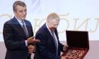 Сергей Меняйло и Валентин Пармон, 18.04.2018. Новосибирск